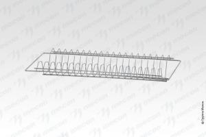 Комплект ПСП - 900*300, нерж. сталь, сетка стаканы