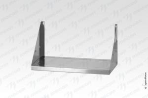Полка навесная открытая ПНОн - 600*300*300 Norma Inox, нерж. сталь, перфорация