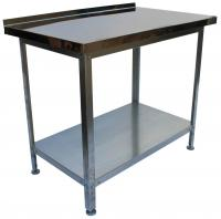 Стол производственный 1500х600х860 с бортом