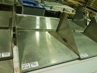 Полка навесная металлическая 600*500 БУ
