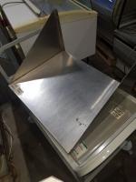 Полка железная производственная 600*500 БУ