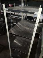 Стеллаж для посуды металлический 1000*600*1860 БУ