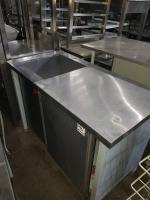 Ванна моечная с рабочей поверхностью 1200*600 мм БУ