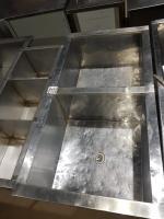 Ванна моечная  2секции 1210*630 мм БУ