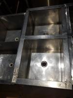 Ванна моечная 2 секции 950*500 мм БУ