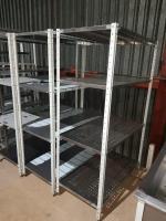 Стеллаж металлический для посуы 1100*600*1800 мм БУ