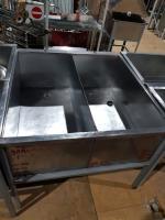 Ванна моечная 2 секции 1070*1120 мм БУ