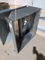 Зонт вытяжной из нержавеющей стали 1000*1000*400 мм БУ