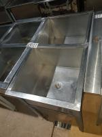 Ванна моечная 2 секции 960*500 мм БУ