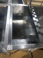 Мойка 2-ух секционная сварная 1000*500 мм БУ